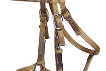 Camo Horse Supplies / Camo halters, bridles, reins, pads and more made with Realtree!