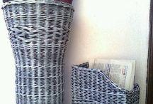Плетеные корзины , вазы