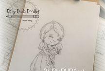 Daily Duda Doodles 2017