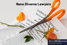 """Divorce Lawyer Reno / Ken McKenna has distinguished himself from the crowd of """"quickie Nevada, Reno divorce lawyers"""" by handling cases for some of Nevada's most prominent and well-known families."""