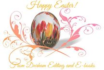 Happy Easter / Happy Easter from Durham Editing and E-books!