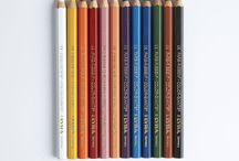 Colouring pencils / Artist quality vivid coloured pencils to bring drawings to life. This range of Lyra pencils are long lasting and sturdy, with gorgeous strong colours. They have a distinctive triangular shape, making them easy to hold for hours and hours of colouring. Try Lyra Ferby for younger children and Lyra Rembrandt for older artists and water soluble Lyra Osiris to blend those edges. Visit www.consciouscraft.uk for our full colourful range of natural pencils, crayons and paints.