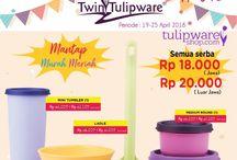 Promo 3 M - HUT Tulipware 2018