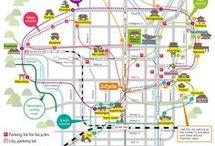 cycling map