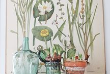 Interior inspiration   Florals + Art