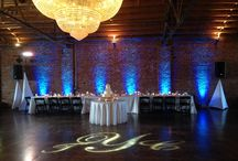 Monograms / Use a monogram to add a personal touch or a main center piece of your reception.