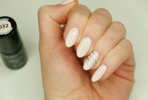 Nail design / manicure, hybrid nails, easy nail design, semilac