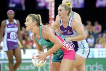 Vixens and other netballers.