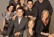Familie / Die Familie mit gemeinsamer Freude am Beruf.