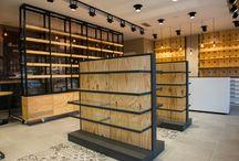 Wooden Pharmacy Design