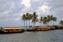 """Backwaters of Kerala / """"KERALA"""", the land where you can endure yourself with freshness of backwaters, the misty mountains, wildlife, rolling grasslands, coffee, tea and rubber plantations, sunny beaches and adventure. The enchantment of KERALA is also marked with monuments, places, forts and memorials."""