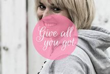 GIVE ALL YOU GOT / Motivation ist alles - was ist Euer Leitspruch?