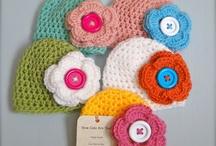 Crochet gals hats