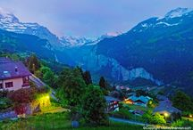 Switzerland / The land of the alps, cheese, chocolate and lakes!