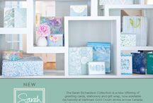 New Sarah Richardson Collection / The Sarah Richardson Collection is an everyday line of special occasion greeting cards, boxed note card sets, sheet wrap, gift bags, tissue paper and journals
