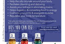 Essential Oils and other tips / How to use it