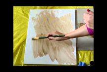 Tutorial pittura tela olio