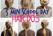 School Hair Styles For Girls