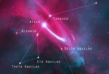 Sternkonstellationen / Hier geht es um Bilder von Sternkonstellationen mit Sternbezeichnung  vom Universum