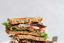 Takeaway sandwiches