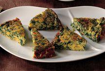 Uova, formaggi e salumi
