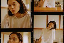 simple poses + film