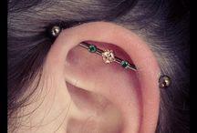 Ear piersings