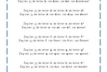 Letters aanleren