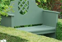 Seating in garden