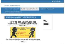 seo content machine article generator