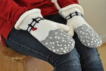 knitting - socks, gloves and mittens