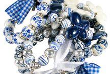 accesorios en azul