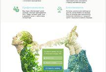 web design / Дизайн сайтов