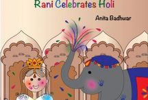 Holi at Home / Ways to celebrate Holi with your family, from crafts, to special themed parties and more!