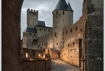 Medieval Carcassone, France / @Domaine de Fraisse is situated just few minutes from the ancient and misterious city of Carcassone... #Discoveraround
