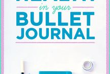 Bullet Journaling / my bullet journal will be used for general health, mood, and wicca/spiritual workings