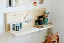Craft Area and Art Supplies Organization