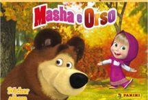 Album Masha e Orso / Album di figurine Masha e Orso, Masha and the Bear, 2015  Panini