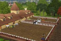 Sims 3 Horse ideas / Ideas for sims 3