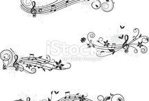 notes et clés romantiques 2