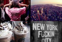 Favorite Places / New York, Copenhagen, Paris, home