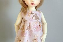 My BJD Clothes - AdrianneInspired / Ball Jointed Doll outfits available in my Etsy store. Sized to fit Yosd and Slim MSD.