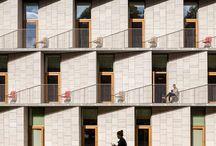 Condominium facade