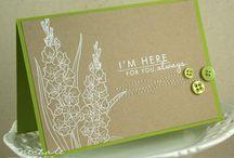 Cards Heat emboss white / by Aletta Heij