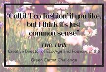 Green & Ethical Fashion & Accessories. / Green & Ethical Fashion & Accessories.