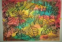 Výtvarka - podzim
