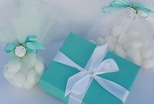Tiffany inspired baby shower favours