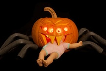 Harrowing Halloween Pumpkins / by Suzy Dickstein