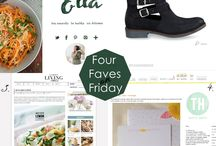 *Four Faves on Friday* featured on You will remember me / Every Friday I will show you four of my favorites. ♥