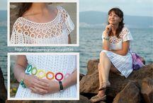 rochite crosetate / crochet dresses